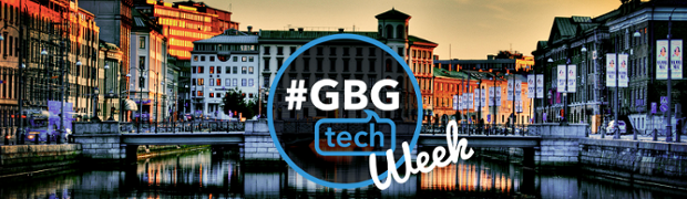 Gbg Tech Week, in Gothenburg.